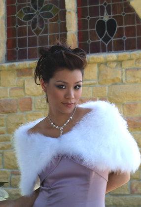 Feather Marabou Bridal Wrap