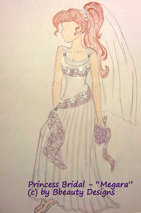 Princess Bridal Megara Preview