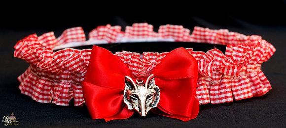 Red Riding Hood Inspired Garter