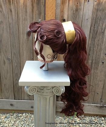 Megara Inspired Grecian Princess Massive Wig