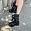 Thumbnail: Combat Biker Boots in Black