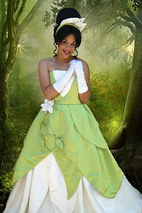 Custom Princess Tiana (B) Adult Costume