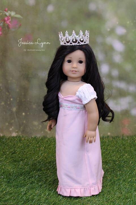 Doll Crown - Royal Teardrop Full Size