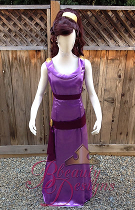 Megara Hercules v.B Costume Dress Gown