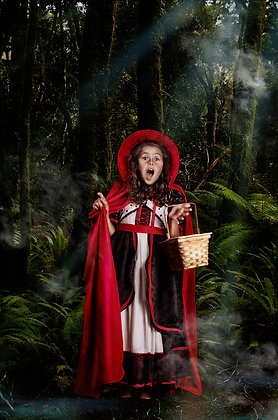 Red Riding Hood Girls Storybook Costume Dress