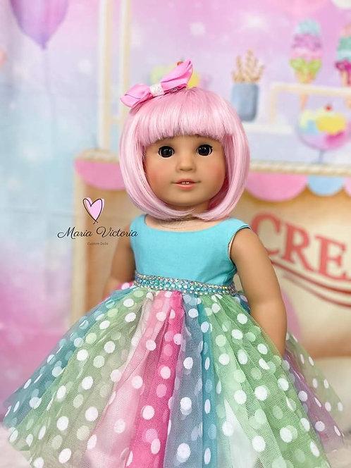 "Zoey in Bubblegum 11.5"""