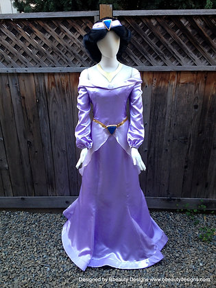 Jasmine Purple Dress Costume Adult Costume