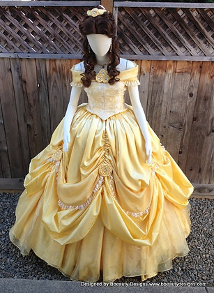 Belle Beauty & the Beast 2013 New Park Costume