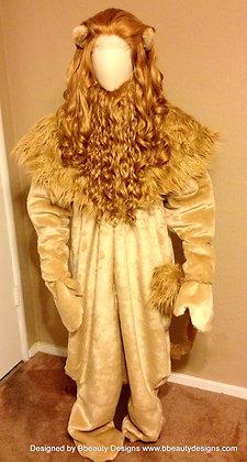 Cowardly Lion Costume Men's Adult