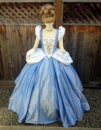 Cinderella Fancy Rhinestone Version Gown