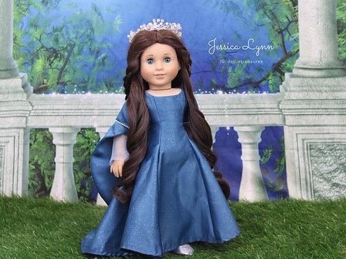 Doll Crown - Fairy Wreath Full Size