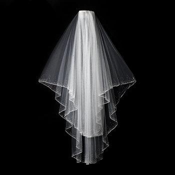 Cinderella Scattered Crystals Bridal Veil