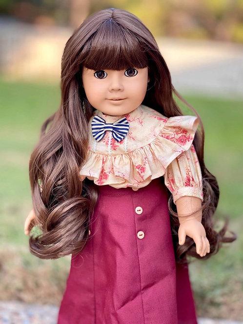 """Audrey in Chestnut Brown 11"""""""