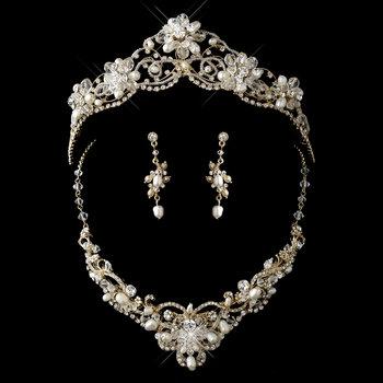 Empress Tiara and Jewelry Set