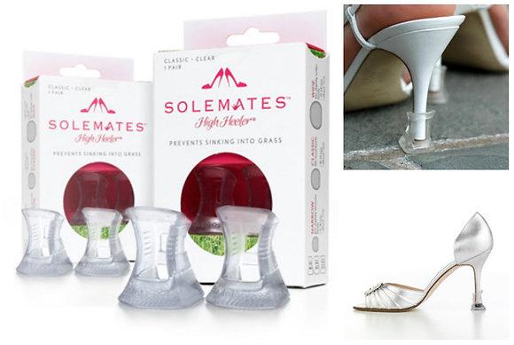 Solemates Clear Heel Protectors Set of 2
