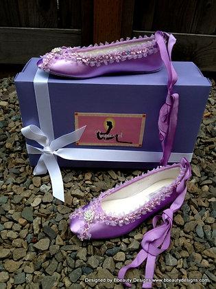 Rapunzel Tangled Bridal Shoes Flats