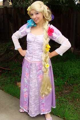 Rapunzel Tangled Adult Custom Costume A
