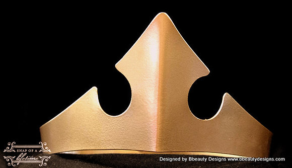 Sleeping Beauty Metal Crown Plain