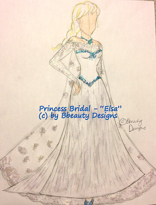 Princess Bridal Elsa Preview