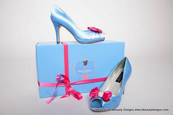 Fairy Godmother Cinderella Bridal Shoes Heels