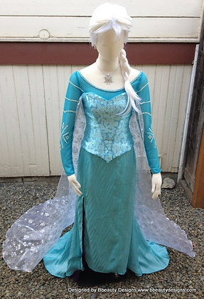 Elsa Frozen Park Version A Adult Costume