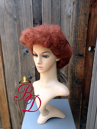 Lucille Ball I love Lucy Red Wig