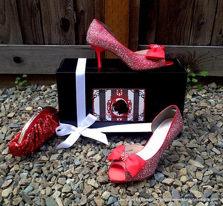 Original Princess Karolyn Bridal Shoes Heels