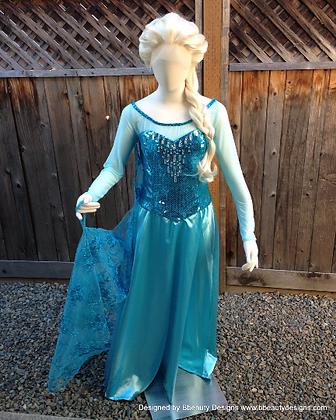Elsa Frozen Lace Front PRO Princess Wig
