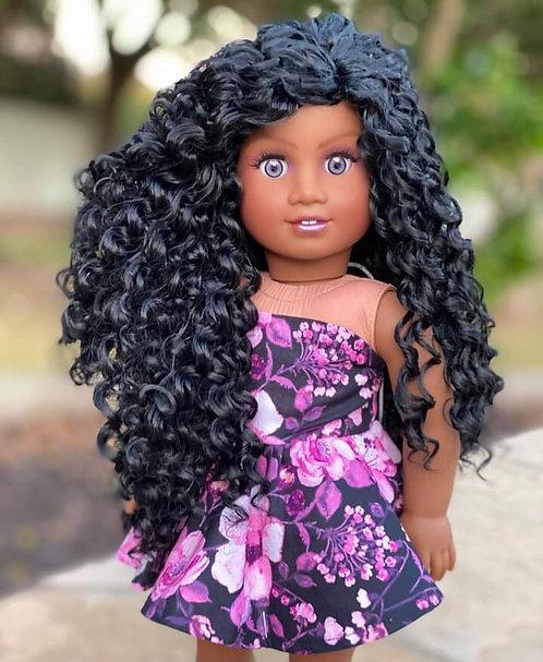 """Savannah in Dark Brown 10"""""""