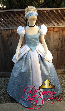 Cinderella Swirl Gown Version P Costume