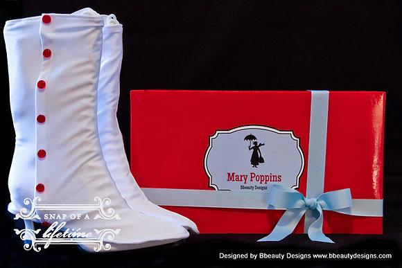 Mary Poppins Spats Boots Jolly Holiday Set