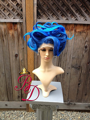 Hades Female Flame Underworld Lace Front Wig