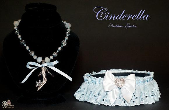 Cinderella Necklace and Garter Set