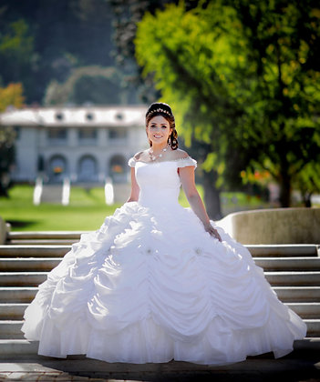 A Night to Remember Beauty & The Beast Bridal Gown