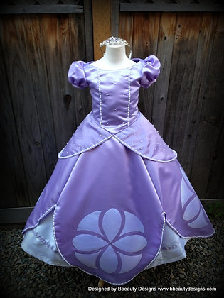 Sofia the First Princess Dress Gown Child