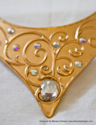 2013 Sleeping Beauty Metal Necklace Embellished