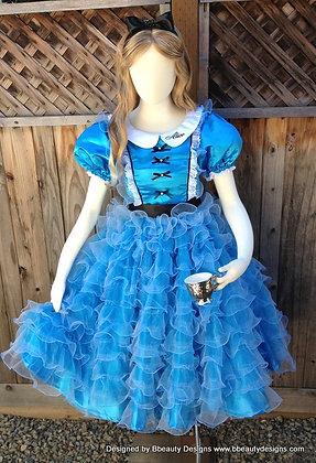 Lolita Alice in Wonderland Fancy Tea Party Dress