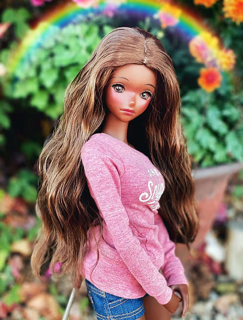 """Guinevere Wig in Chestnut Brown 8.5-9"""""""