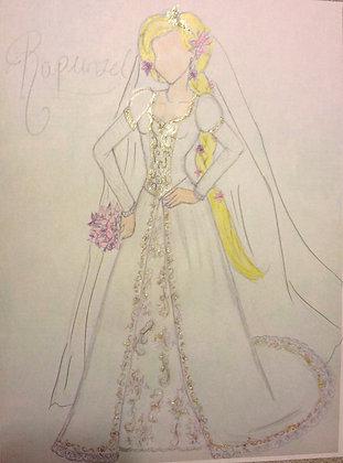Princess Bridal Rapunzel Preview