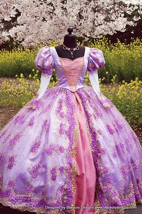 Fantasy Rapunzel Tangled Masquerade Adult Costume