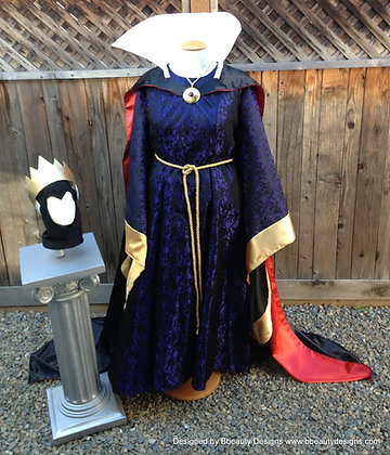 Evil Queen Snow White Villain Adult Park Costume