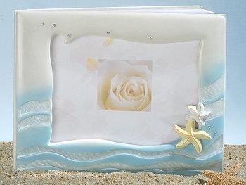 Ariel Beach & Starfish Inspired Guest Book