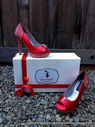 Mary Poppins Jolly Holiday Bridal Heels