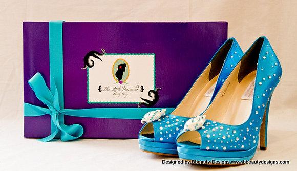 Ariel Little Mermaid Shoes Heels