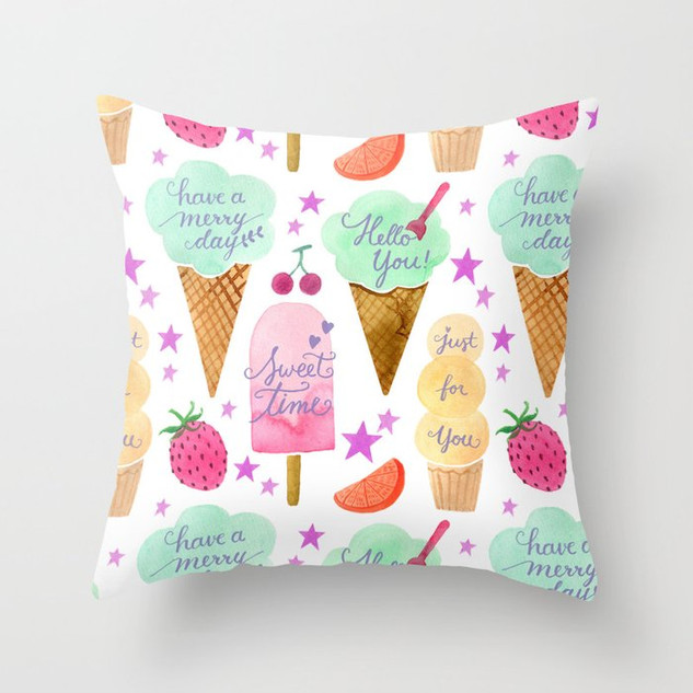 pastel-ice-cream-with-lettering-pillows.