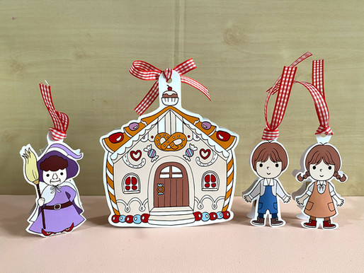 Merry DIY : Hansel Gretel and Gingerbread house cute gift bags