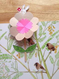 Blooming Flower Merry Bookmark04
