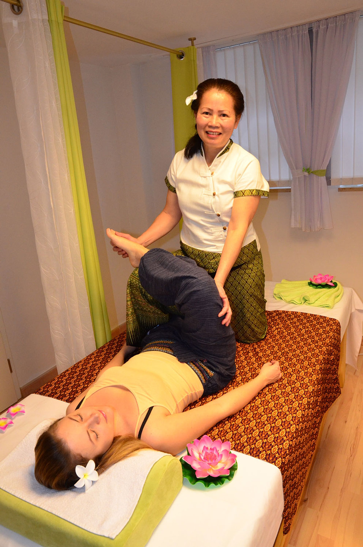 Thai massage lauf
