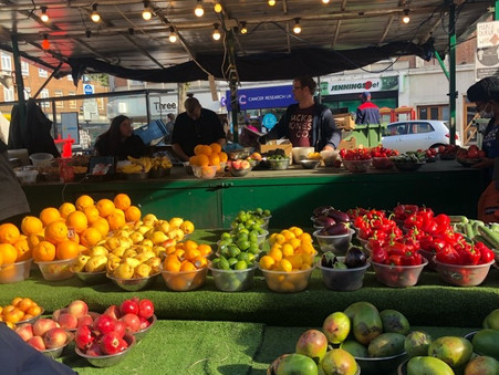 讀者英國分享: 英式「街市」I like UK street market 😍😍