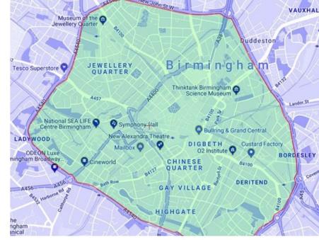讀者英國分享:伯明翰清潔空氣區